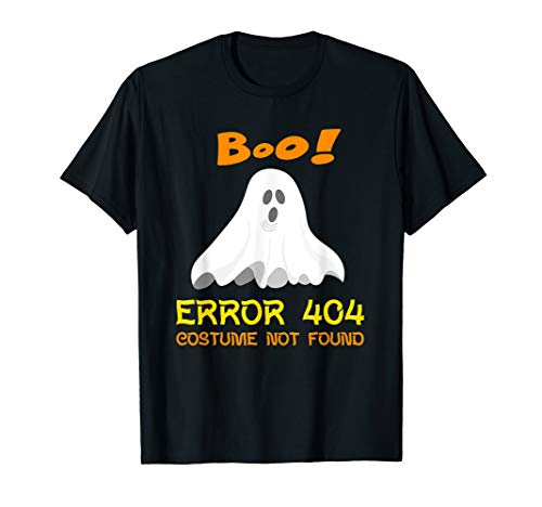 Code 404 Costumes Not Found - Error 404 Costume Not Found Boo