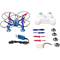 WL Toys 2.4G 4Ch 6-Axis RC Quadcopter RTF, Blue Color