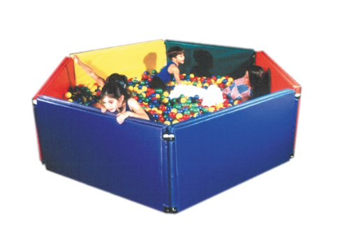 Fabrication Enterprises Sensory Ball Environment 5 panels, 3,500 large balls 6' x 6 1/2' by Fabrication
