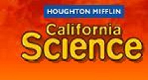 Read Online Houghton Mifflin Science Spanish California: Ind Bk 6 Pk On Ch1 Level 6 (Spanish Edition) PDF