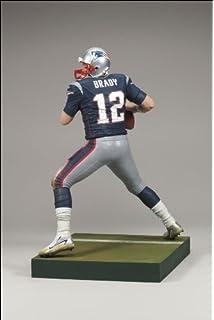 6f0eb8d55 Tom Brady  12 New England Patriots Blue Jersey Dirty Uniform McFarlane NFL  Wave 2 2008