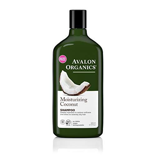 Moisturizing Coconut Shampoo Avalon Organics 11 oz Liquid