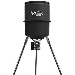 Wildgame Innovations W225D Tri-Pod Digital Feeder, 225-Lb. Poly Barrel, 30-Gals