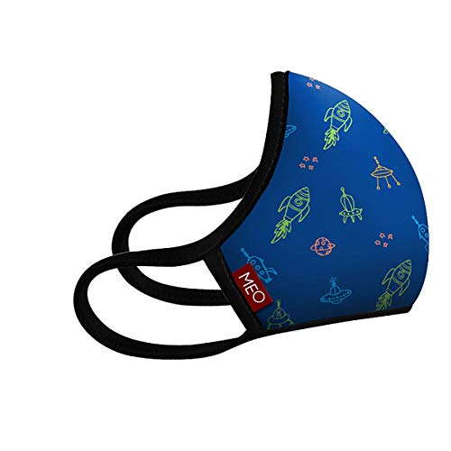 Newzealand MEO-AIR Kids Face Mask with Helix Filter High-Filtration for Smog Flu Pollen Dust Protection ()