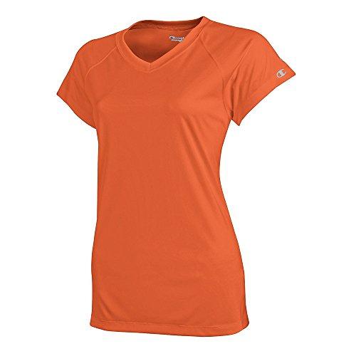 Champion Double Dry 4.1 oz. V-Neck T-Shirt (CW23)