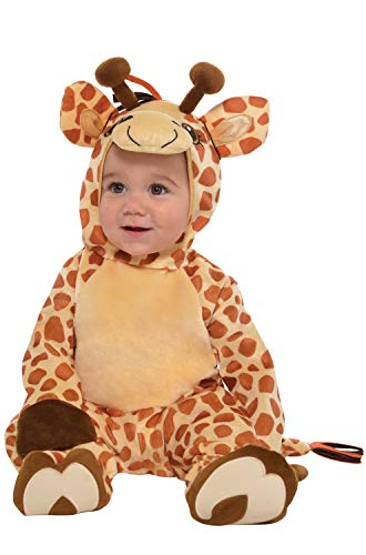 Halloween Costume Supply Store (Amscan 845912 Baby Giraffe Costume, Size, Brown, 6-12)