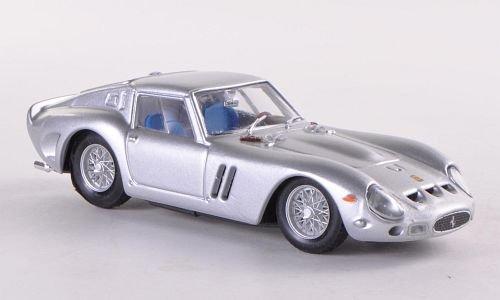 Ferrari 250 GTO, silver, 1962, Model Car, Ready-made, Brumm 1:43