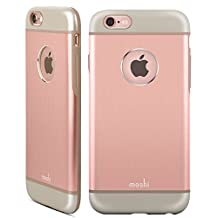 Moshi 99MO079305 iGlaze Armour iPhone 6/6S Rose Gold-1 Pack, Retail Packaging