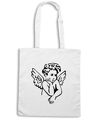 T-Shirtshock - Bolsa para la compra FUN0594 angle baby sticker 1 83602 Blanco