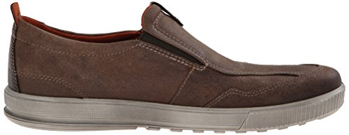 Ecco Uomo Ennio Casual Slip-on Mocassino Marrone Cacao / Moka