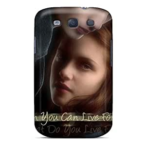 AlainTanielian Samsung Galaxy S3 Scratch Resistant Cell-phone Hard Cover Support Personal Customs Fashion Twilight Series [tQm3179Rrir]