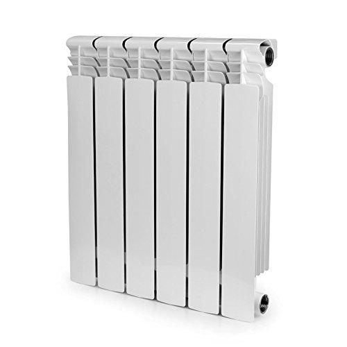 6 Section , Bimetal, Wall-hung ,Aluminum Heating Radiator. by Yanex Industries (Image #7)