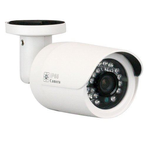 "GW Security 1/3"" Color Sony CMOS 1200 TVL Wide Angle Lens Bullet Security Camera - Outdoor / Indoor Use"
