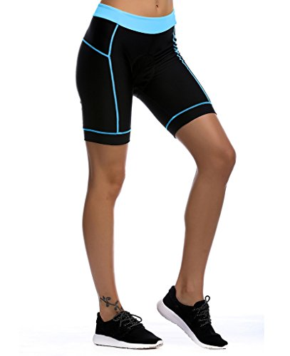 Womens Cycling Shorts Breathable 3d Padded Cycling