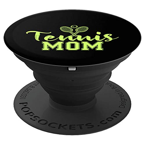 Tennis Mom funny gift for moms women Mothers Day PopSockets Grip and Stand for Phones and Tablets