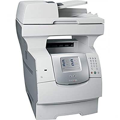 Lexmark X644E Multifunction Printer - Monochrome Laser - 50 ppm Mono - 1200 x 1200 dpi - Fax, Printer, Copier, Scanner - Fast Ethernet - Mac - Energy Star Compliance