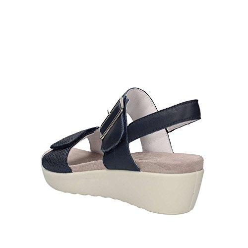 Sandales Sandales Doux Enval Enval 1278811 Doux 1278811 Clair Femmes Bleu pqSw15CBnx