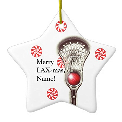 Amazon.com: Christmas Ornaments Lacrosse Personalized Holiday Tree Ornament  Both Sides Star Ceramic Ornament Crafts Christmas Gifts: Home & Kitchen - Amazon.com: Christmas Ornaments Lacrosse Personalized Holiday Tree
