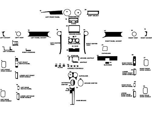 05 scion xb center console - 2
