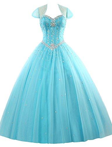 mit Party Herz Perlen Abendkleider Erosebridal Kleid Koralle Lang Ballkleid Ausschnitt Xx0UnAqPZ
