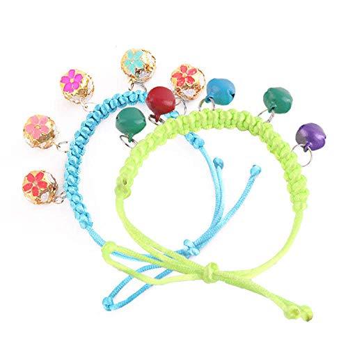 PTLX Basic Dog Collars,Cat Collars,Pet Supplies-Bell Handmade Cloisonne