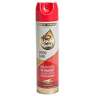 Scotts Liquid Gold A10 Wood Cleanr Preservative, 10oz, AerosolCan, 10 Oz