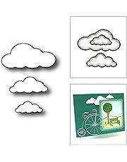 HLIAN Trio Clouds Sky Weather Metal Cutting Dies voor DIY Scrapbooking en Card Making Decoratieve Embossing Craft