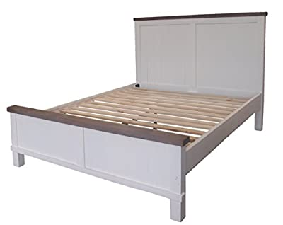 CDI Furniture Country Collection Rustic Pine Wood Traditional Country Bed