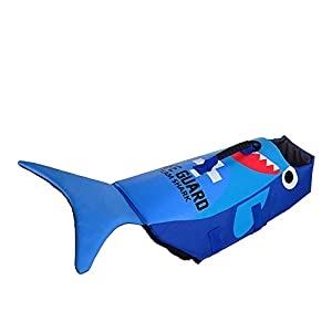 Pet Life Jacket Dog Cosplay Shark Lobster Turtle Swimwear Dog Swimsuit Small Medium and Large Dog Buoyancy Swimsuit S Click on image for further info.