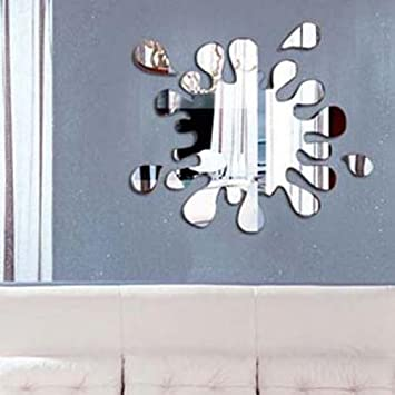 Fun Paint Splatter Mirror Wall Sticker Home Graphic Decal Gift Decor Kids  Room Novelty Wall Sticker Part 97