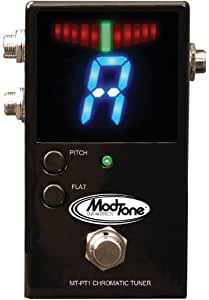 modtone guitar effects mt pt1 chromatic tuner pedal musical instruments