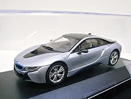Amazon com: JADI BMW custom 1/43 BMW i8 (Aionikku Silver