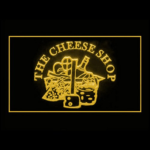 110269 Cheese Shop Cheddar Homemade Dairy Product Display LED Light Sign