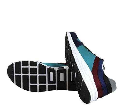 Gucci Men's Multi-Colored Satin Lace-up Trainer Sneakers 336613 (10.5 US / 10 G, - Men Gucci Shop