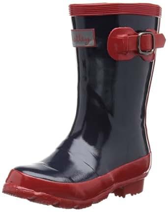Hatley Little Girls'  Splash Boot, Classic Navy, 3