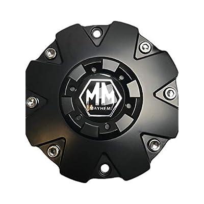 Mayhem Wheels Warrior 8015 C108015MB 806808CB7 Matte Black Center Cap: Automotive