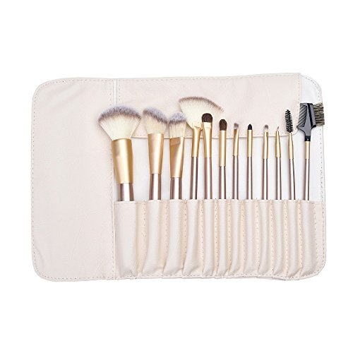 Briar Beauty Costume Amazon (12pcs Professional Luxury Makeup Brushes Champagne Gold Make Up Brush Set Cosmetic Brush Beauty Maker pencil maquiagem)