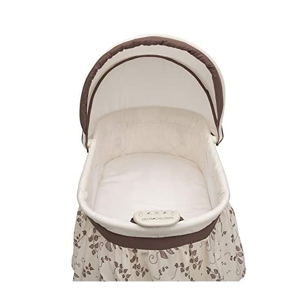 Best Bassinet For Newborn 2021 - Portable Crib with Lights