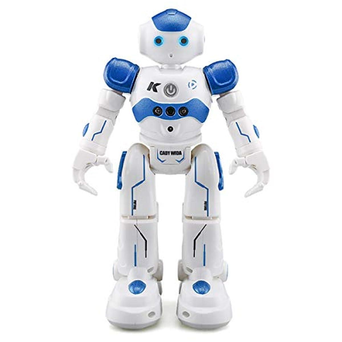 [해외] WEECOC 다기능 로보트 장난감 라디오 컨트롤 로보트 손짓 제어 그것은 노래와 춤을 한 아이의 장난감 해피버스데이 선물 화이트