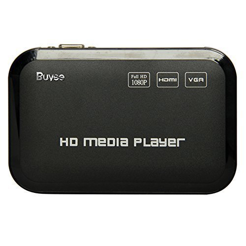 Buyee Full HD 1080p HDMI Media Player Romote Control Wireless HDD MKV SD...