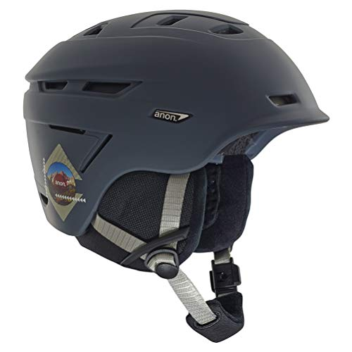 - Anon Men's Echo Helmet, Rush Gray, Medium
