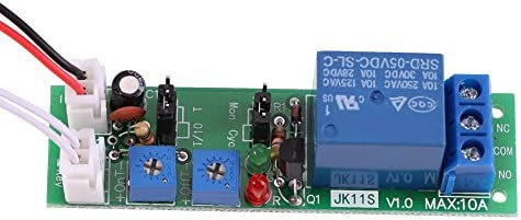 DC 5 V 12 V 24 V m/ódulo temporizador c/íclico ajustable rel/é on//off temporizador de retardo