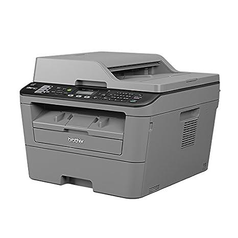Brother MFC-L2700DW multifuncional - Impresora multifunción (Laser, Mono, Mono, 26 ppm, 2400 x 600 DPI, 13 ipm) Gris