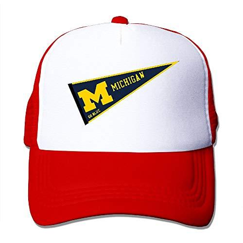 - Fa8Cai Cloth Unisex Adjustable Flat-Brim Dad Hat Baseball Caps - Michigan Go Blue Skull Cap