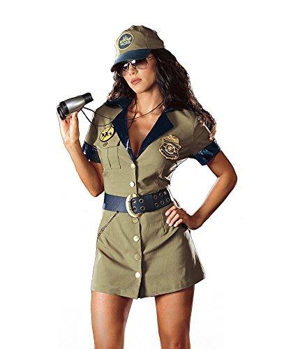 Dreamgirl Border Babe Costume
