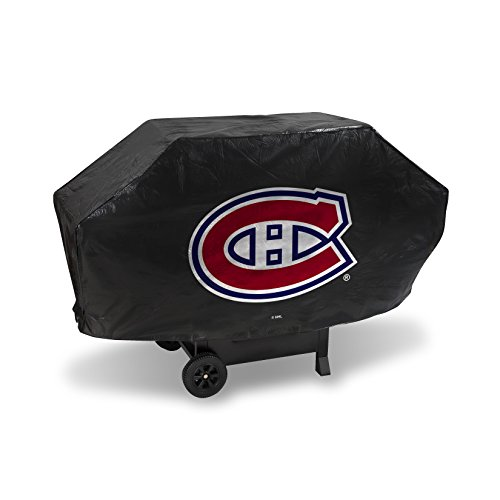 NHL Montreal Canadiens Deluxe Grill Cover, Black, 68 x 21 x 35