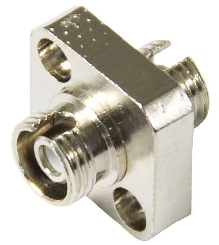 Fc Mating Sleeve (FC/APC Single Mode Mating Sleeve, Zirconia Sleeve, Square Flanged Mount)