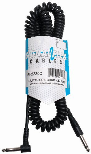 Signal Flex Stage or Studio Cable, Matched Interconnects Plug), Black - Cable Instrument Economy