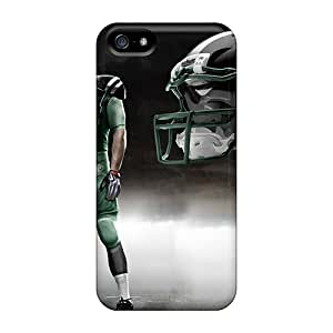 High Grade SUNY Flexible Tpu Case For Iphone 5/5s - New York Jets