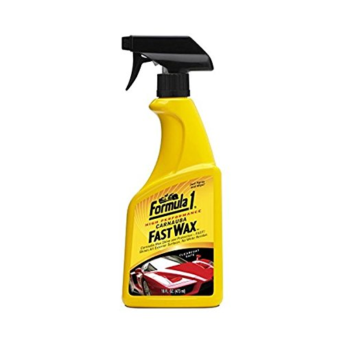 Formula 1 Car Polish - Formula 1 Carnauba Spray Fast Wax - High Gloss - Lasting Shine and Protection - 16 fl. oz.